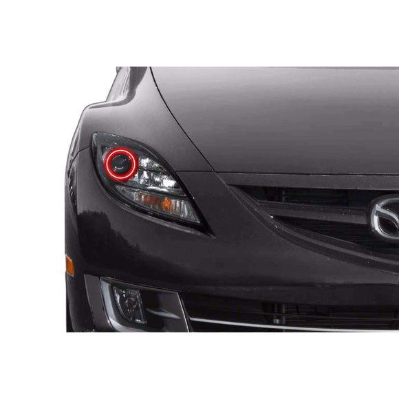 2011-2013 Mazda 6 Profile Prism (formerly ColorMorph) Halo Headlight Kits by LED Concepts™