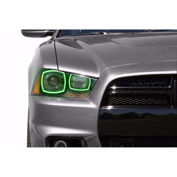 2011-2014 Dodge Charger Profile Prism (formerly ColorMorph) Halo Headlight Kits by LED Concepts™