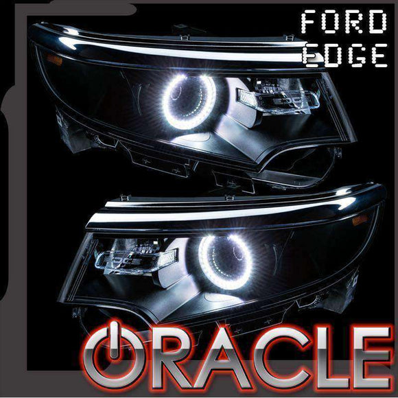 2011-2014 Ford Edge LED Headlight Halo Kit by Oracle™
