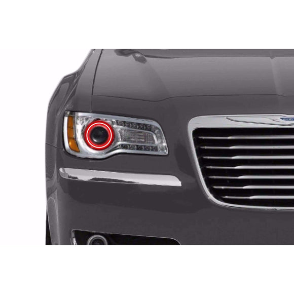 2011-2016 Chrysler 300 Profile Prism (formerly ColorMorph) Halo Headlight Kits by LED Concepts™