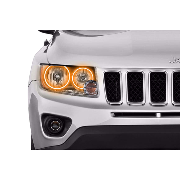 2011-2016 Jeep Compass Profile Prism (formerly ColorMorph) Halo Headlight Kits by LED Concepts™