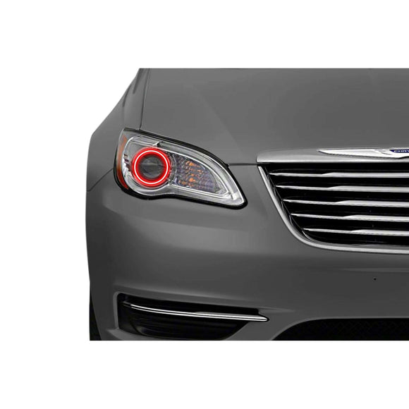 2011-2017 Chrysler 200 Profile Prism (formerly ColorMorph) Halo Headlight Kits by LED Concepts™