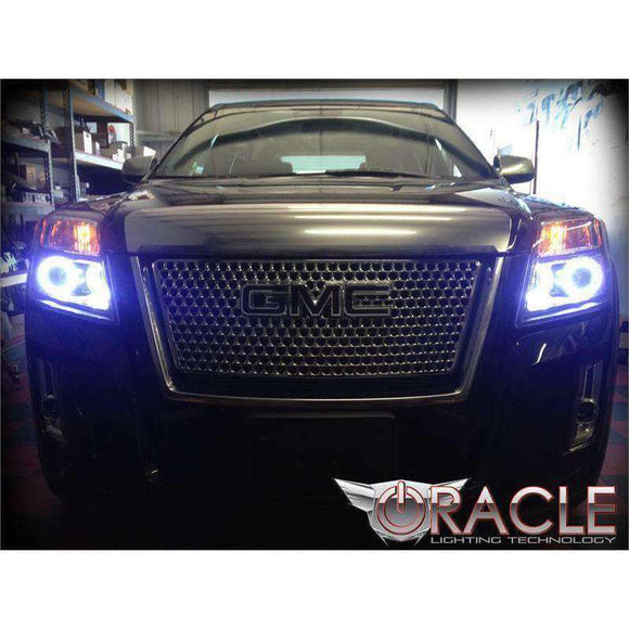 2012-2013 GMC Terrain ColorSHIFT LED Headlight Halo Kit by Oracle™