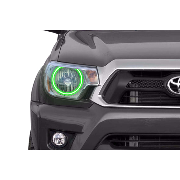 2012-2015 Toyota Tacoma Profile Prism (formerly ColorMorph) Halo Headlight Kits by LED Concepts™