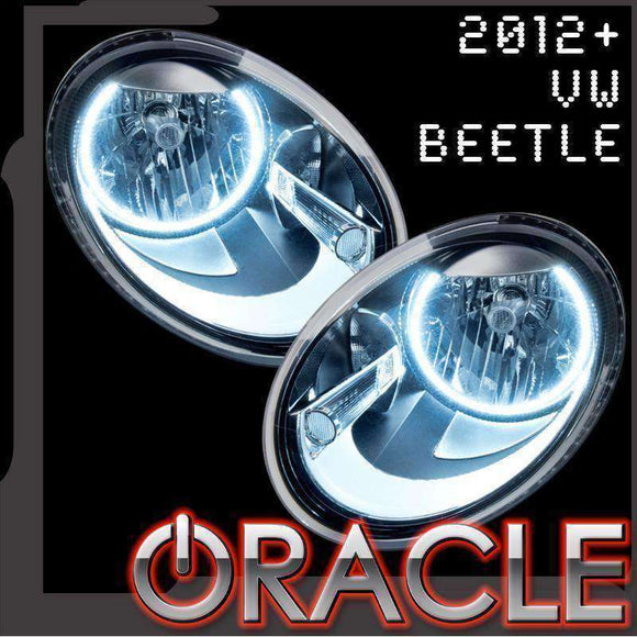2012-2015 Volkswagen Beetle ColorSHIFT LED Headlight Halo Kit by Oracle™