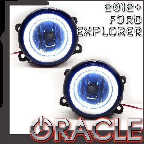 2012-2015 Ford Explorer LED Fog Light Halo Kit by Oracle™