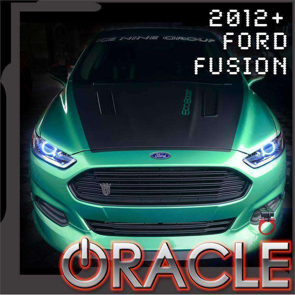 2012-2017 Ford Fusion ColorSHIFT LED Headlight Halo Kit by Oracle™