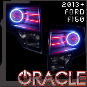 2013-2014 Ford F-150 / Raptor LED Headlight Halos + Concept Strip Kit (Projector Only) by Oracle™
