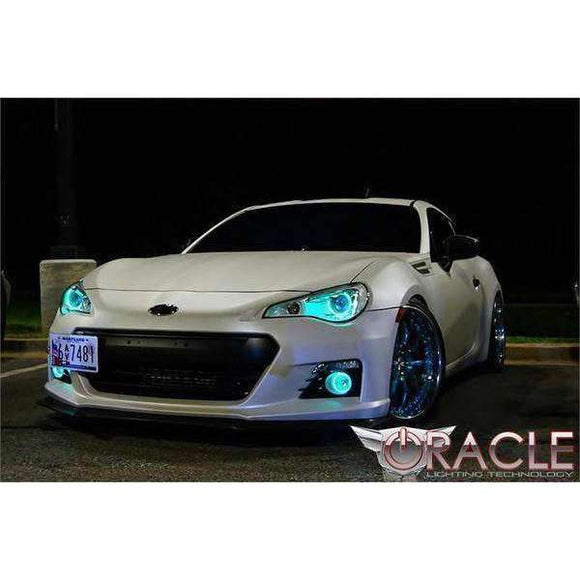 2013-2017 Subaru BRZ ColorSHIFT LED Headlight Halo Kit by Oracle™