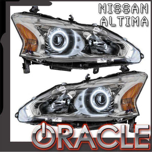 2013-2015 Nissan Altima Sedan LED Pre-Assembled Oracle™ Halo Headlights