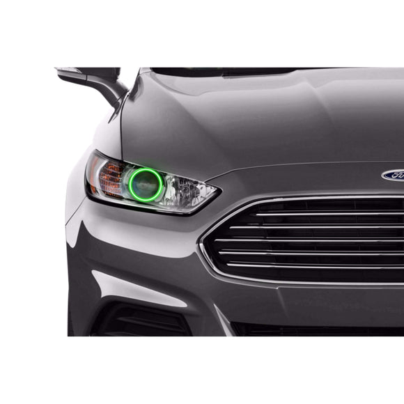 2013-2016 Ford Fusion Profile Prism (formerly ColorMorph) Halo Headlight Kits by LED Concepts™