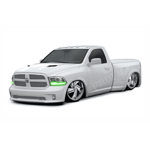 2013-2017 Dodge Ram Profile Pixel (formerly ColorMorph) DRL Halo Headlight Boards by LED Concepts™