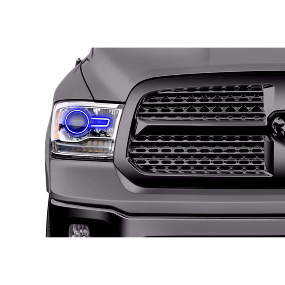 2013-2017 Dodge Ram Projector Style Profile Prism (formerly ColorMorph) Halo Headlight Kit by LED Concepts™