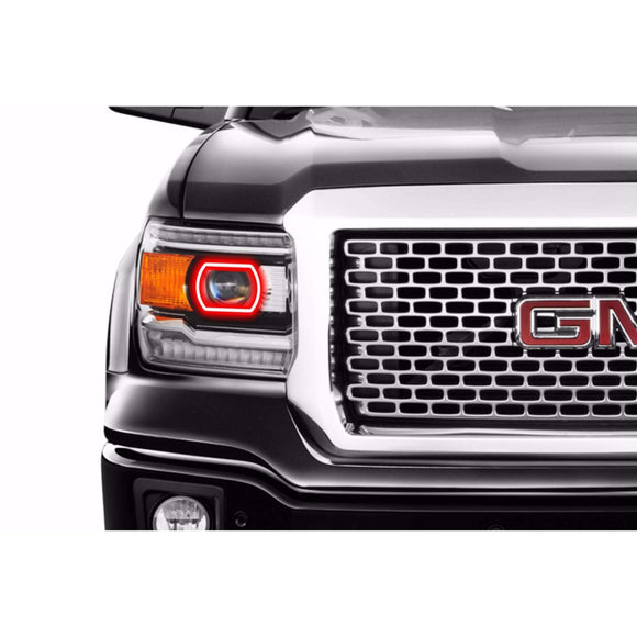 2014-2015 GMC Sierra Profile Prism (formerly ColorMorph) DRL Halo Headlight Boards by LED Concepts™