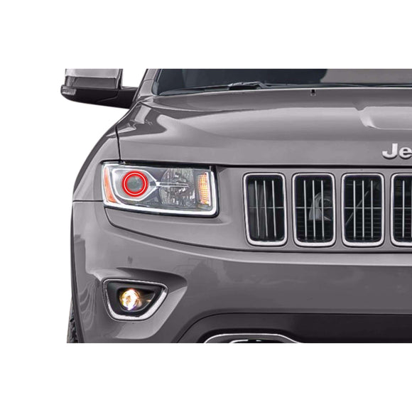 2014-2015 Jeep Grand Cherokee Profile Prism (formerly ColorMorph) Halo Headlight Kits by LED Concepts™