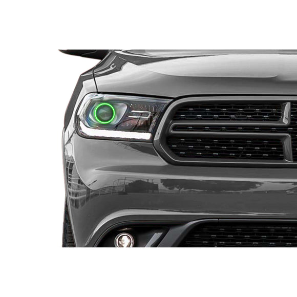 2014-2017 Dodge Durango Profile Prism (formerly ColorMorph) Halo Headlight Kits by LED Concepts™