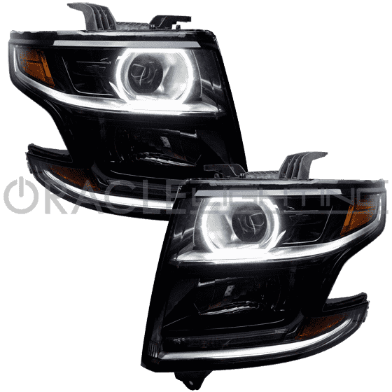 2015-2018 Chevrolet Tahoe Plasma Headlight Halo Kit by Oracle™