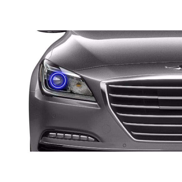 2015-2016 Hyundai Genesis Sedan Profile Prism (formerly ColorMorph) Halo Headlight Kits by LED Concepts™