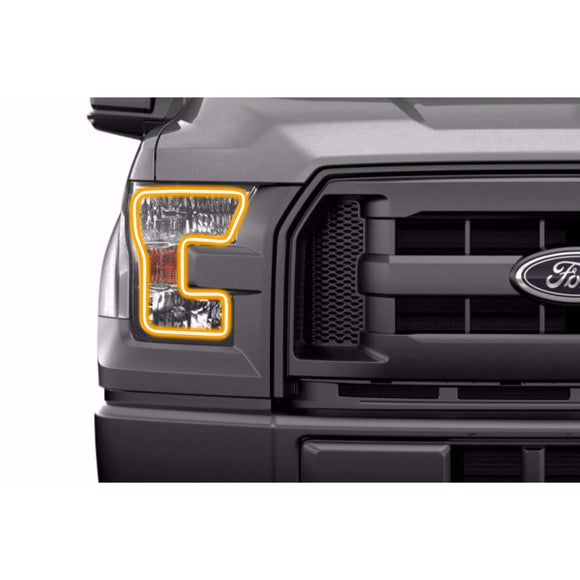 2015-2017 Ford F-150 (w/o OEM LED) Profile Pixel (formerly ColorMorph) DRL Halo Headlight Boards by LED Concepts™