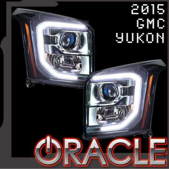 2015-2018 GMC Yukon ColorSHIFT LED Headlight Halo Kit by Oracle™