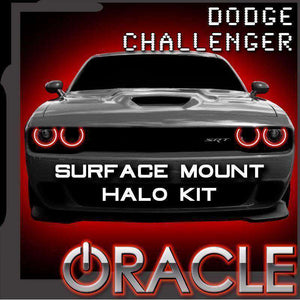 2015-2019 Dodge Challenger SXT/RT/SRT/Hellcat Oracle™ ColorSHIFT Halo Kit - Surface Mount