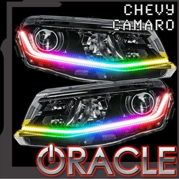 2016-2018 Chevrolet Camaro Oracle™ ColorSHIFT Surface Mount DRL Modules