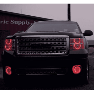 2016-2018 GMC Sierra ColorSHIFT LED Headlight DRL Kit by Oracle™