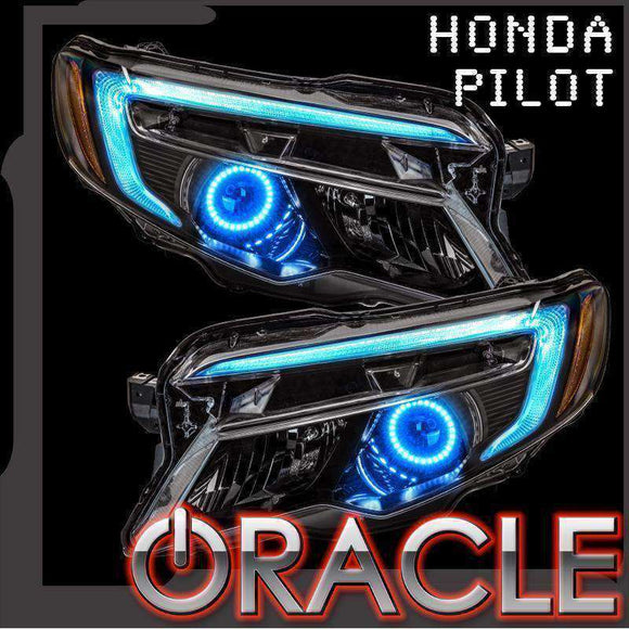 2016-2018 Honda Pilot Oracle™ ColorSHIFT Halo + DRL Kit