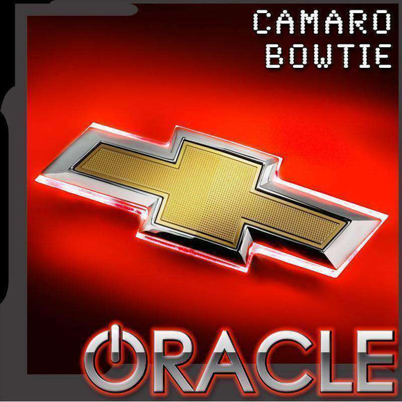 2016-2019 Chevrolet Camaro Illuminated Bowtie Emblem by Oracle™