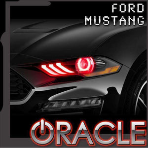 2018-2019 Ford Mustang V6/GT/SHELBY Oracle™ LED Halo Kit with ColorSHIFT DRL