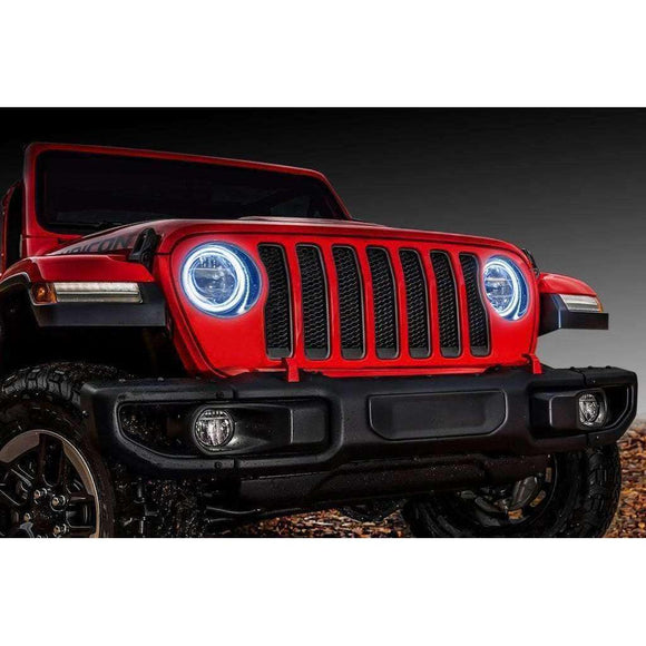 2018-2019 Jeep Wrangler JL Surface Mount LED Headlight Halo Kit by Oracle™