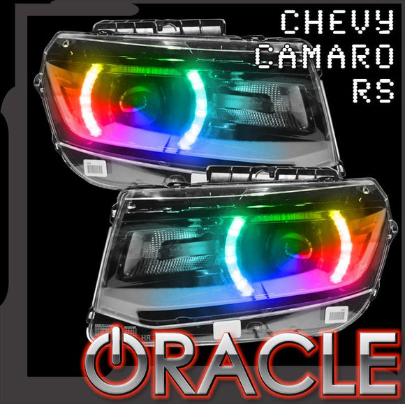 2014-2015 Chevrolet Camaro RS ColorSHIFT LED Headlight Conversion Kit by Oracle™