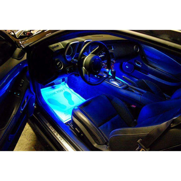 Ambient LED Lighting Footwell Kit by Oracle™