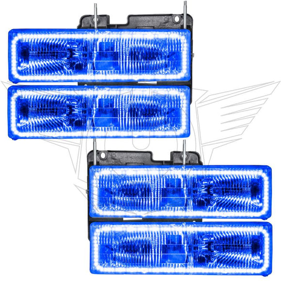 1992-1994 Chevrolet Blazer LED Pre-Assembled Oracle™ Halo Headlights