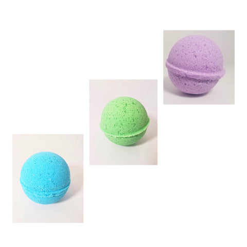 Handcrafted Hemp Infused Bath Bombs