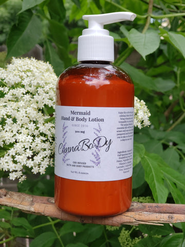 Geranium & Lavender Essential Oil Infused Hand & Body Lotion