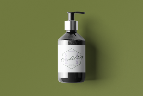 300 mg Lavender Citron CBD Infused Hand & Body Lotion