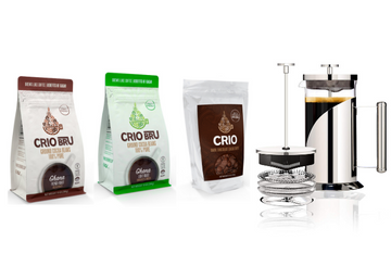 NEW! Starter Kit with Gourmet Dark Chocolate Cacao Chips