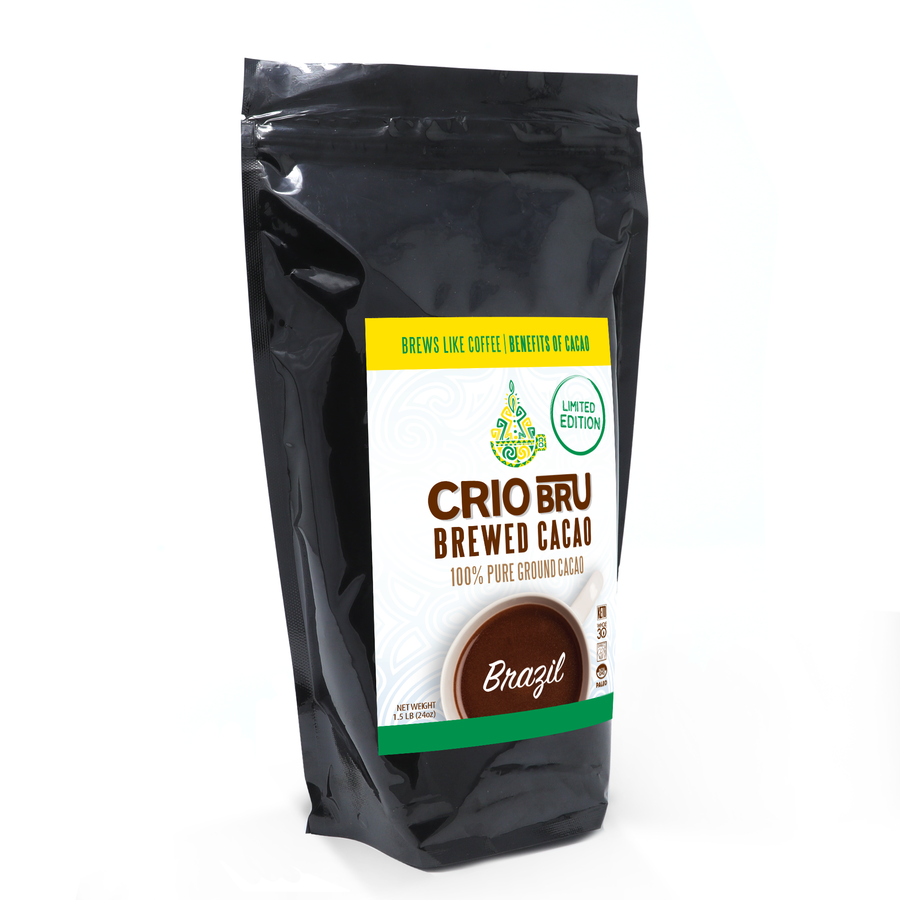 NEW! 2 Pack Limited Edition Brazil 24 oz & Uber Dark Spanish Roast 24 oz Bundle