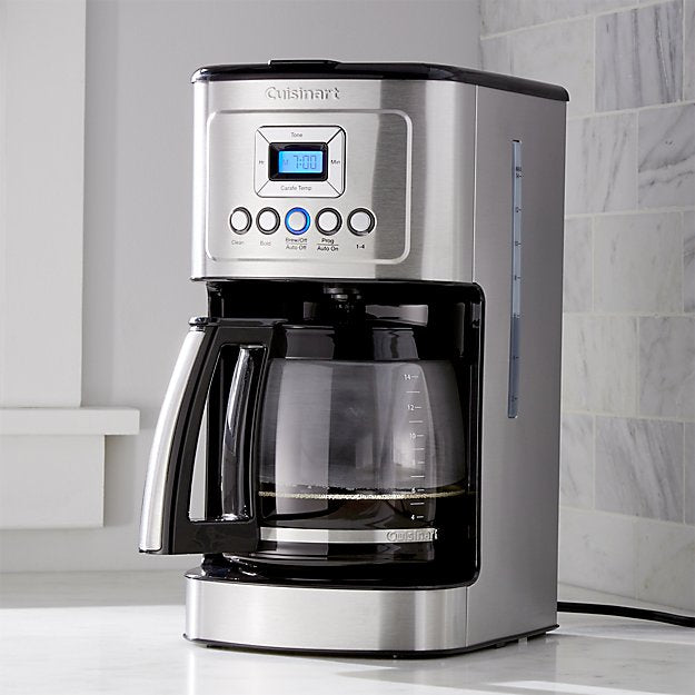 NEW! [THE ULTIMATE CRIO MAKER] Cuisinart PerfecTemp 14-Cup Criomaker (Coffeemaker)
