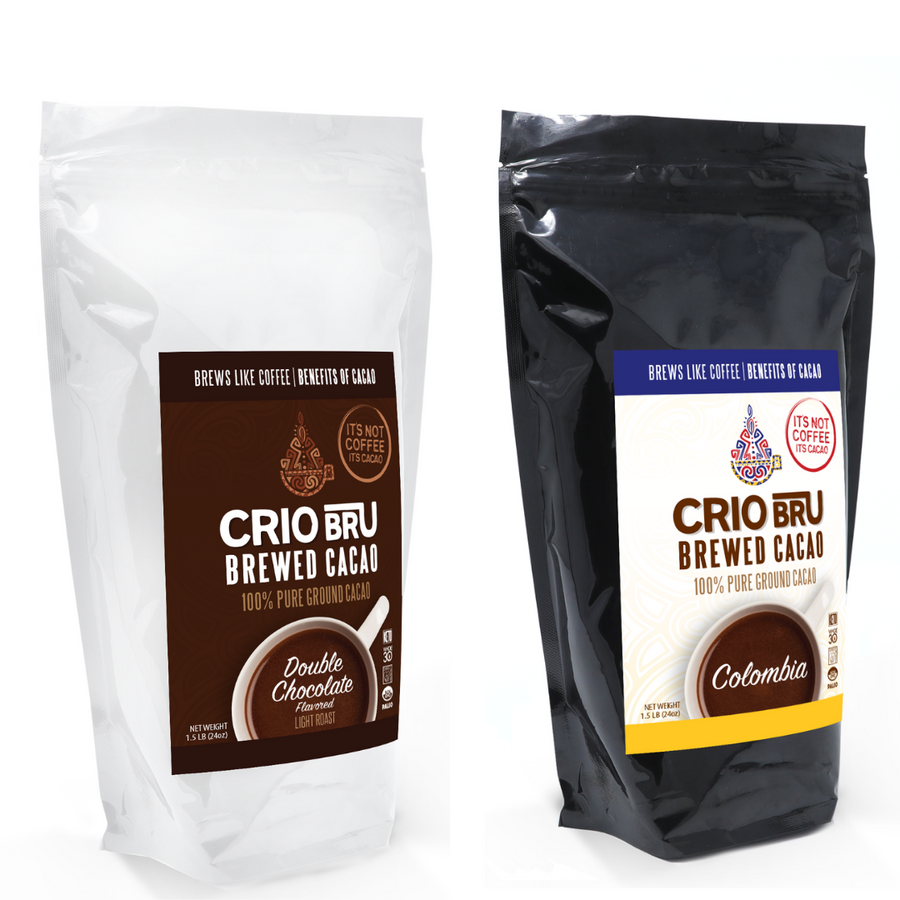 NEW! Limited Edition 2 Pack Double Chocolate & Colombia