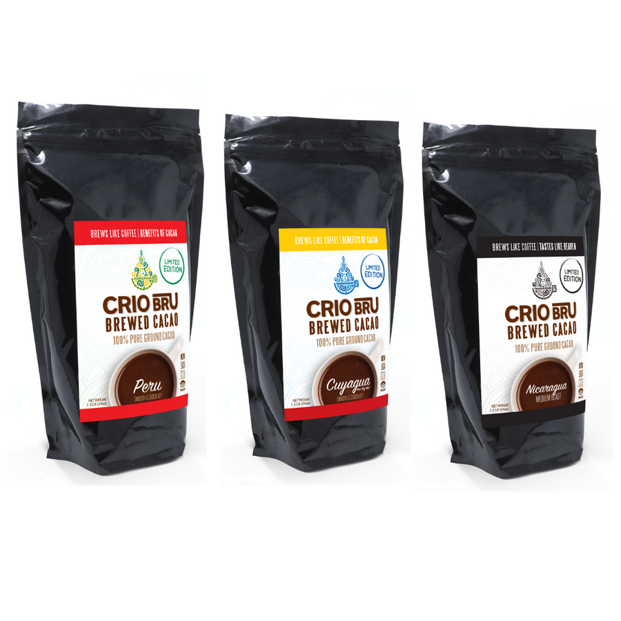 3 Pack Limited Edition Peru 24 oz & Cuyagua 24 oz & Nicargaua 24 oz Bundle 1.5lb 3 Pack