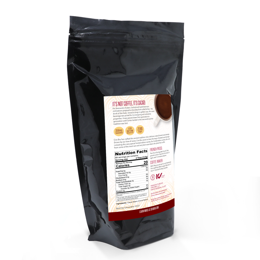 NEW! Limited Edition Uber Dark Spanish Roast 24 oz (1.5 lb)