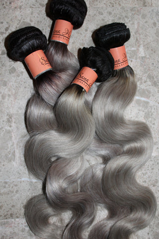 SHC platinum bodywave hair - Sana hair collection