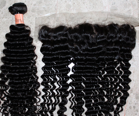 SHC deep wave lace frontal - Sana hair collection