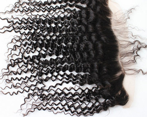 SHC curly lace frontal - Sana hair collection