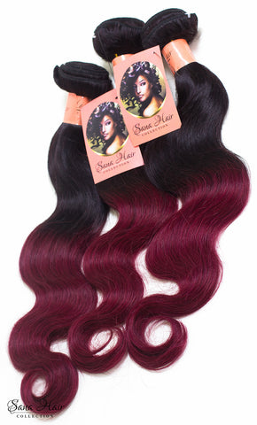 Brazilian Body Wave 1b-burgundy - Sana hair collection