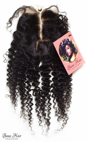 SHC kinky curly closure - Sana hair collection