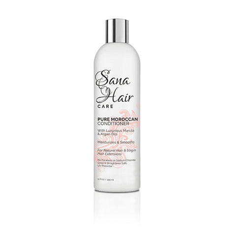 PURE MOROCCAN CONDITIONER 12oz - Sana hair collection
