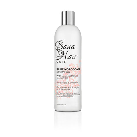 PURE MOROCCAN SHAMPOO 12oz - Sana hair collection